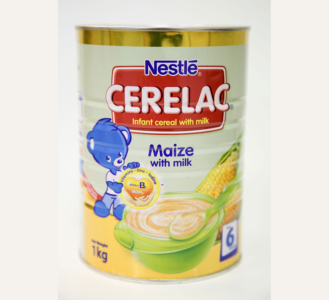 Cerelac infant cereal Maize