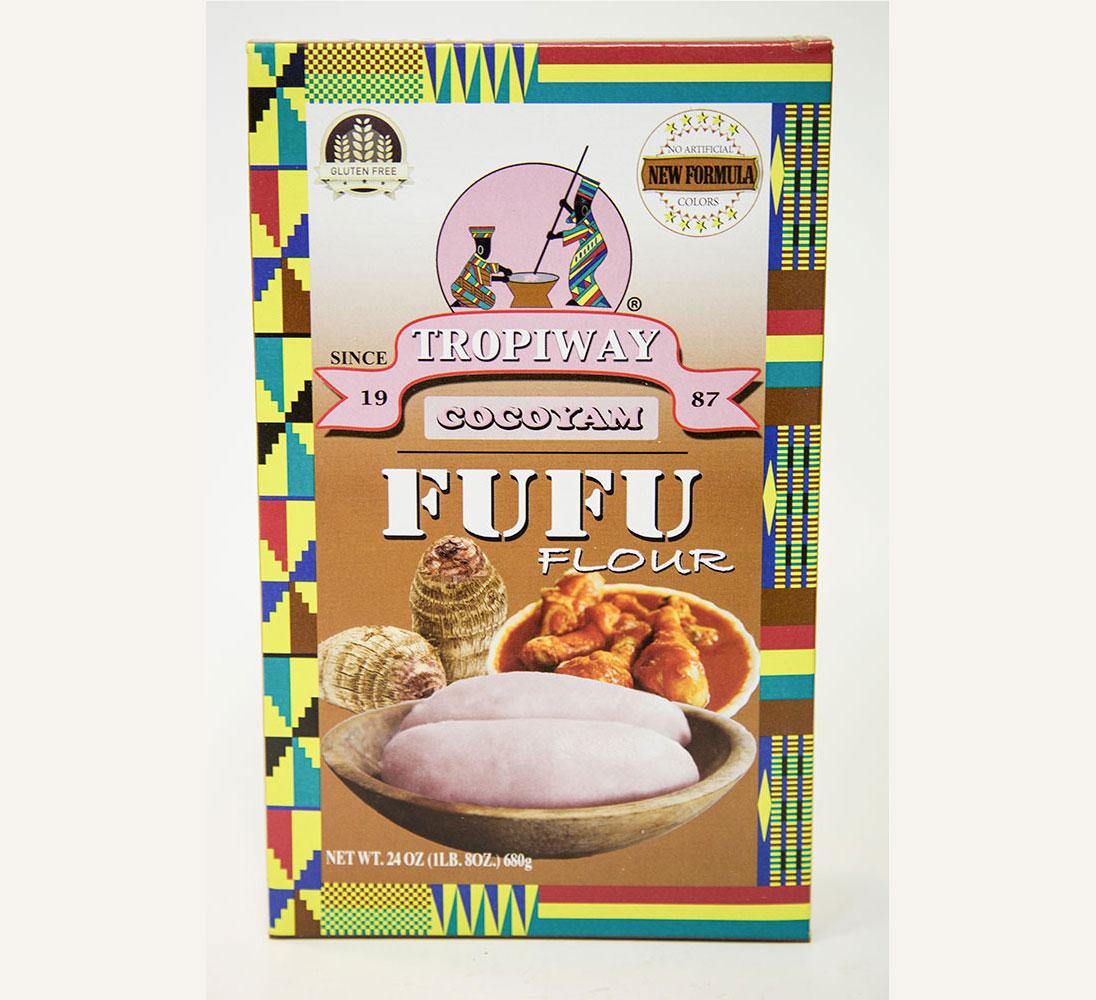 Cocoyam Fufu Tropiway