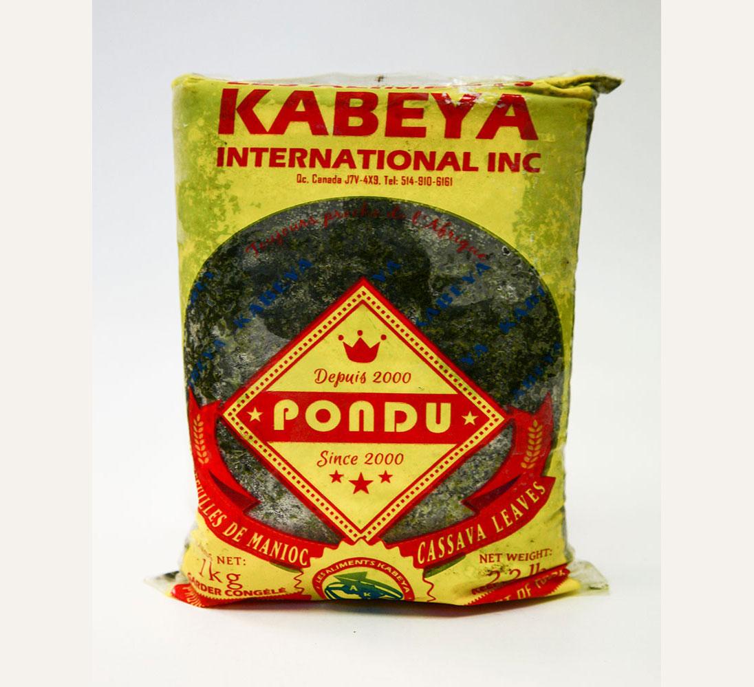 Kabeya Pondu Cassave Leaves