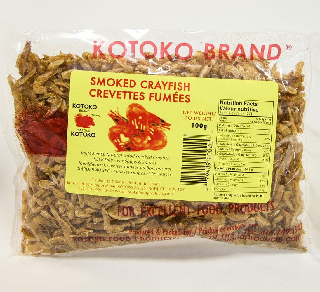 Kotoko Smoked Crayfish g