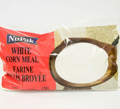 Nupak White Corn Meal