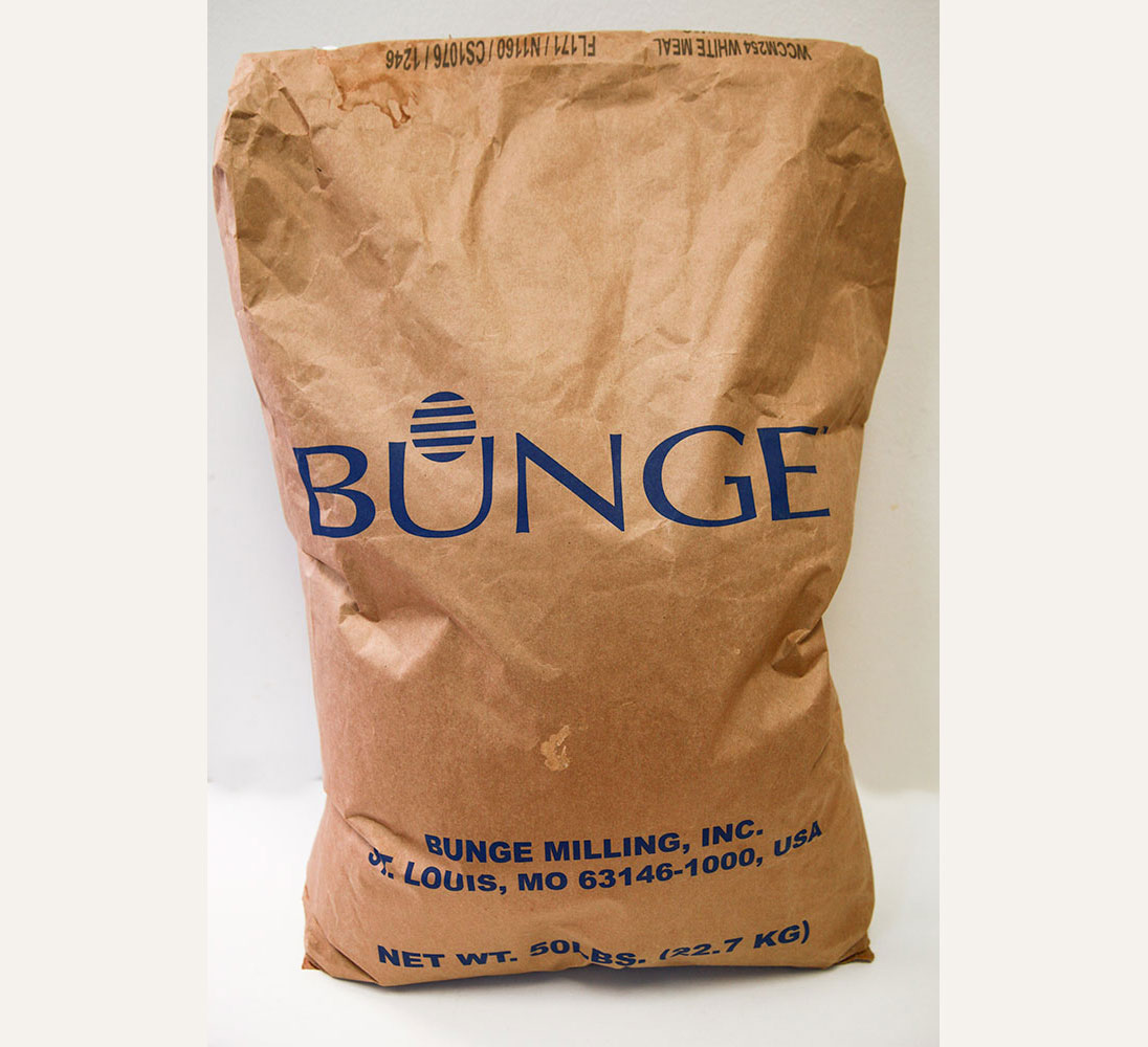 White Corn Meal bunge kg