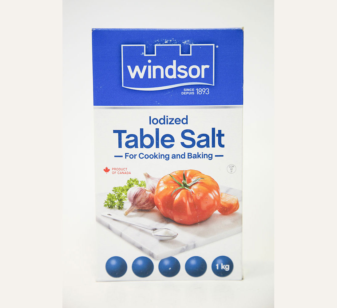 Windsor Iodized Table Salt kg
